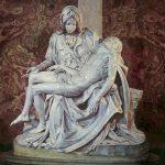 Pieta, The C.1498 Buonarroti, Michelangelo (1475-1564 Italian) Marble Sculpture St. Peter's Basilica, Vatican City
